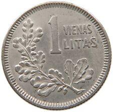 LATVIA 1 LITAS 1925 #a33 629