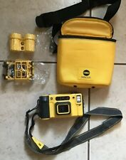 Minolta weathermatic Dual 35 Underwater Camera With Case And Accessories