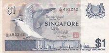 1976 Singapore $1 Note, Pick 9