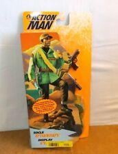 Modern ACTION MAN mam - HASBRO 1995 - SOCLE D'ASSAUT / DISPLAY STAND - MOSC