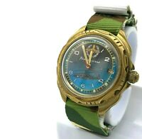 Air Force Military Komandirskie VOSTOK Watch Russian Helicopter Luminous Dial