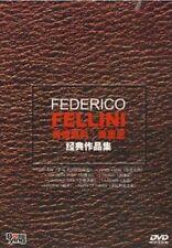 Italian Director Federico Fellini Movie collection 8DVD
