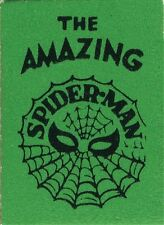 1966 MARVEL MINI BOOK AMAZING SPIDERMAN GIVEAWAY PROMO GREEN NM RARE SMALLEST