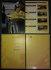 Buch mit 17 A-Portocards Nr. 2-18/2000 der Deutschen Post - Formel 1 Grand Prix