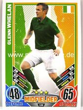 Match Attax Euro EM 2012 - #139 Glenn Whelan - Irland