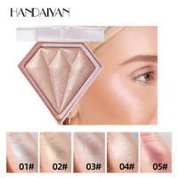Diamond Professional Makeup Face Powder Bronzer Highlighter Powder Palette new