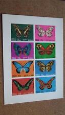 Butterflies Sheet Postal Stamps