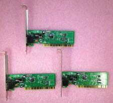 3 (THREE) x  IMPRESSION DM9102AK 10/100 RJ45 PCI ETHERNET NETWORK CARDS