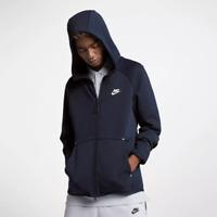 Mens Nike Sportswear Tech Fleece Hoodie Sport 928483-451 Obsidian New Sz XL