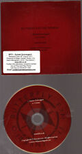 Promo Music CD, Butterfly Fan the Inferno, Sunset Scavengers 2 tracks***