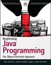 Beginning Java Programming: The Object-Oriented Approach Int'L Edition