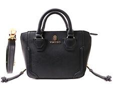 Vertigo Paris Dani Mini Cross-body Satchel Bag - Black/White