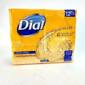 Dial Gold Antibacterial Deodorant Soap 12 Bars  4 oz Each
