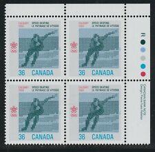 1987 Canada SC# 1130iii UR Olympic Winter Games 1988 Dull HB -PB- M-NH Lot#1887