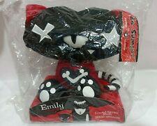 """Emily the Strange Teeny Tawny 8"""" Plush Doll Kitty L'il Strangers Toynami Ltd"""