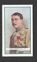 GALLAHER - THE GREAT WAR, VC HEROES, 7TH - #168 ALBERT GILL