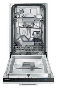 Samsung DW50R4040BB/EU 45cm Fully Integrated 9 Place Dishwasher