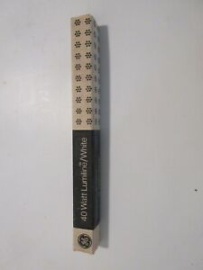 RCA Vintage ON AIR Warning Light MI-11717  Lumiline Bulb NOS NIB 40 WATTS WHITE