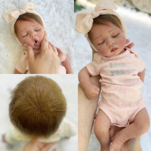 "18"" Full Body Silicone Baby Girl Or Boy Custom Made Bountiful Handmade"