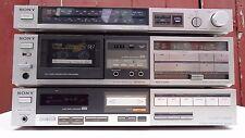 Sony TA-AX44 Amplificador estéreo integrado de Plata Vintage de LEGATO lineal