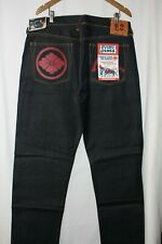 Evisu Private Stock #2 Raw Selvedge Denim Jeans Mens Size 38 New