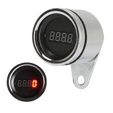 12V Red Led Motorcycle Digital Tachometer Tacho Speedometer for ATV Dirt Bike