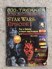 Star Wars Episode 1 800 Trekker Mail Order Catalog 1999