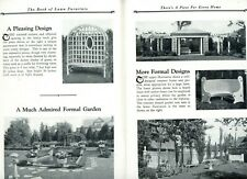 New Listing1928 Long-Bell Lumber 36 pg Garden Architecture Catalog Pergolas Fences Arbors