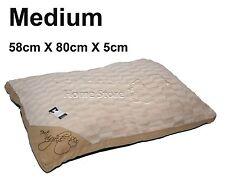 Medium comfy doux lavable chien animaux chat chaud panier lit coussin oreiller c-beige