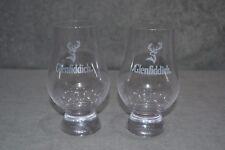 Pair Of (2) Glenfiddich Nosing & Tasting Glasses Glencairn Glass Tumbler Whisky