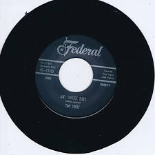 TINY TOPSY - AW SHUCKS BABY (Fab Female R&B Jiver) b/w CAL GREEN - THE BIG PUSH