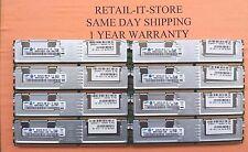 HP 32GB 8x4GB PC2 5300F ECC BL680C G5 BL460C G5  398708-061 SERVER RAM 1 YEAR WA