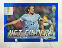 2014 Panini Prizm World Cup Net Finders EDINSON CAVANI Blue Prizm 069/199
