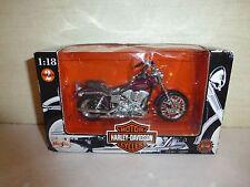 New Maisto Harley-Davidson Motorcycles 2 Series, 1998 Die Cast New  B7