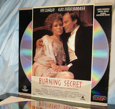 'BURNING SECRET' - Rare Faye DUNAWAY Drama on Vintage FS Laser Disc, NM