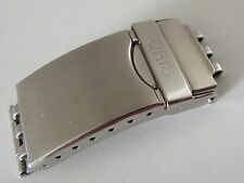 Oris Clasp (Ref: 7 18 24) brushed/polished with etched logo 18mm Stainless Steel