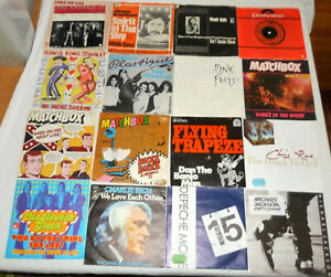 50 Single Schallplatten ab 60er - Rock, Pop, Disco, Beat