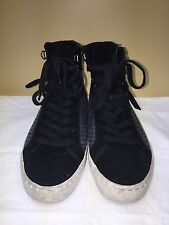 French Connection Lodlow Women Black Sneakers SIZE US 8 EUR 38.5 Pre-owned