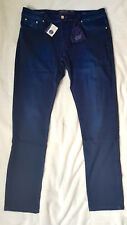 JACOB COHEN 620-W 36-Nuova con Etichetta Blue Jeans con una Blue Badge RRP £ 560