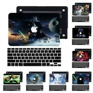 Star Wars Rubberized Hard Cut Out Case +Keyboard Cover For New Macbook Pro Air