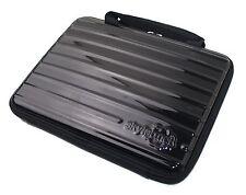 "Black Hard Shell PET Case Zipper for 7"", 9"", 10"" or 10.5"" tablet / laptop / iPad"