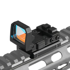 1x22x16 Flip Up Red Dot Sight Holographic Reflex For Airsoft Glock MOS Pistol