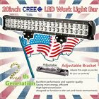 20Inch 126w CREE LED Light Bar Spot Flood Work Lamp 4WD Boat UTE Driving ATV Car