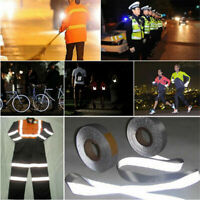 Reflective Tape Safety Conspicuity Sew On Night Runner Clothing Retro-Reflector