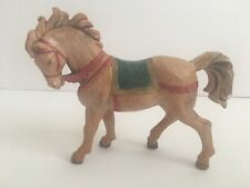 "Roman Fontanini Depose Italy 1992 Retired 5"" Horse Nativity Village Collection"