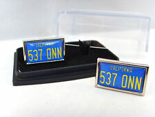 STARSKY & HUTCH CAR NUMBER PLATE MENS CUFFLINKS CUFF LINKS GIFT