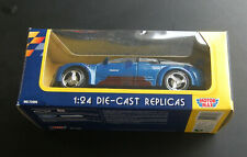 MotorMax 1997 Pontiac Rageous BLUE 1:24 Diecast Metal  Car NOS in box