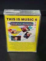 This is Music Cassette 6  - Various Artists- Milli Vanilli Bangles Roxette b27