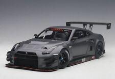 1/18 Autoart Nissan GT R NISMO GT3 (Dark opaco grigio) 2015 (composta modello /2