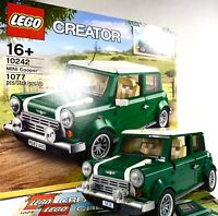 LEGO Creator Mini Cooper 10242 Complete w/ Manual + Box | Cars Set Collectors